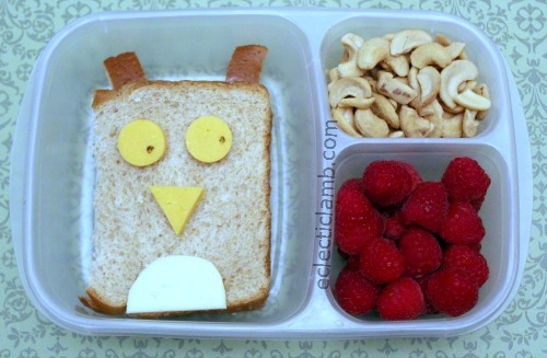 Simple Owl Lunch