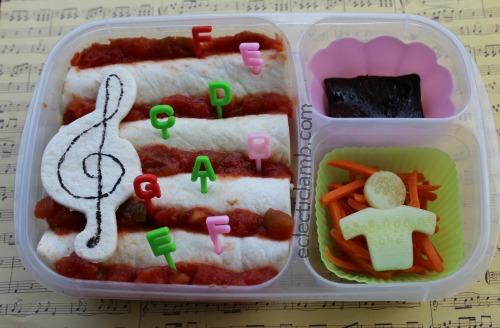 Treble Clef Bento Lunch