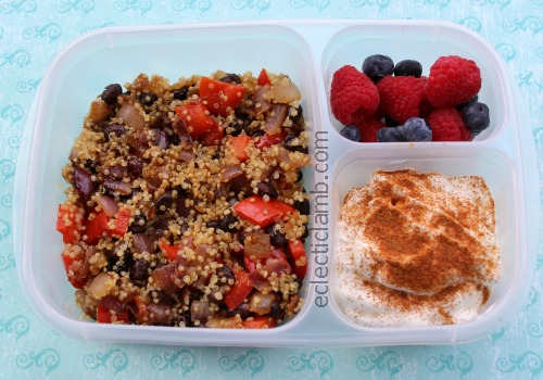 Black Bean Quinoa Protein Meal