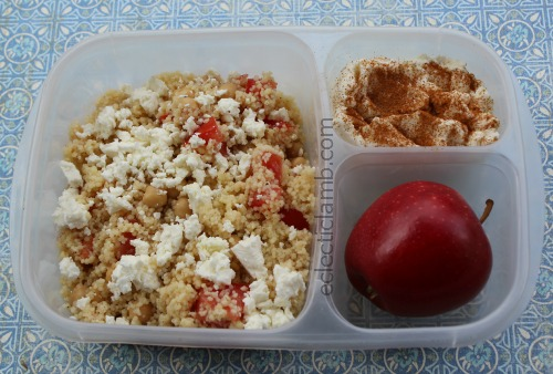 Couscous and Feta Protein meal