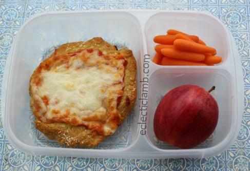 Pretzel Crust Pizza Lunch