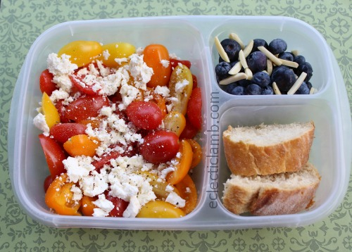 Tomato and Feta lunch
