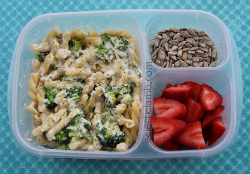 Broccoli Cheese Pasta Lunch
