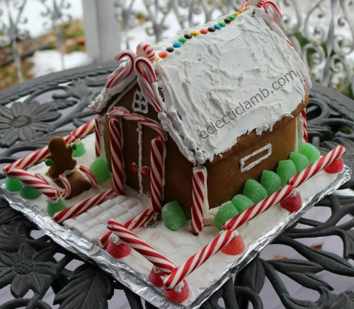 Gingerbread House Another View