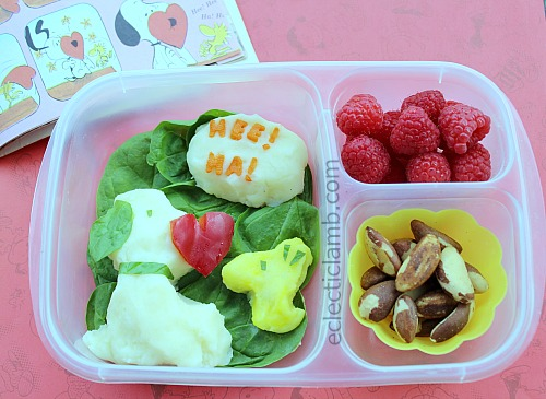 Snoopy Heart Bento Lunch