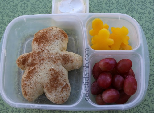 Gingerbread Man Bread Lunch