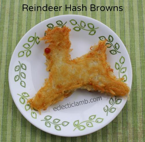 Reindeer Hash Browns