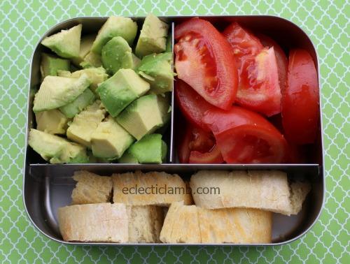 avocado tomato bread