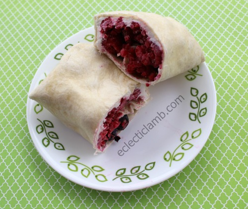 Cream Cheese Berries Tortilla