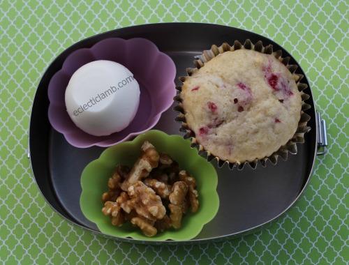 Egg Muffin Walnuts Breakfast
