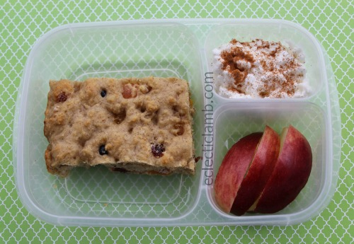 Fruit and Nut Bar Breakfast