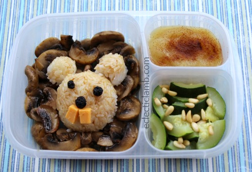 Groundhog Bento Lunch