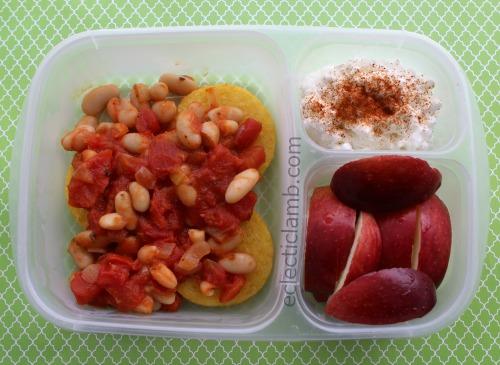 Polenta with Beans Breakfast