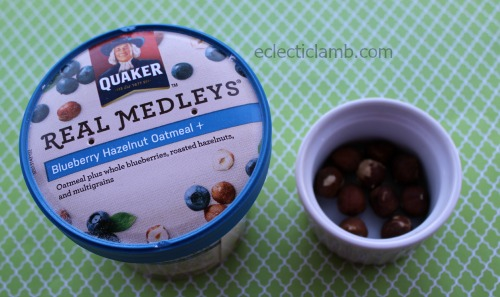 Quaker Real Medleys breakfast