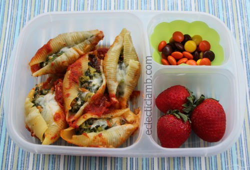 Veggie Stuffed Shells