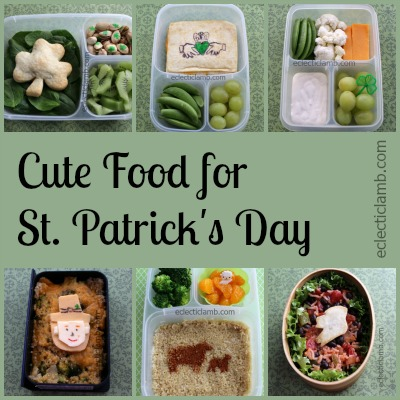 Cute Food St Patrick's day