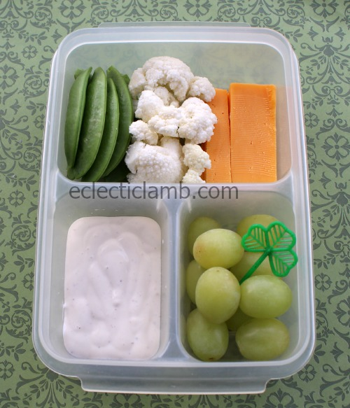 Irish Flag Snack Food Idea