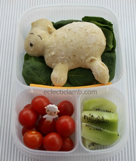 Sheep bread lunch
