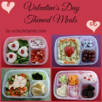 4 Valentine Themed Lunches