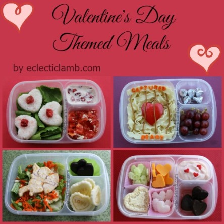 Valentine's Day Meals Collage