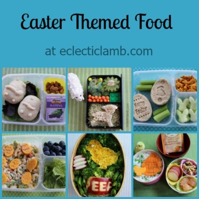 Easter Food Collage