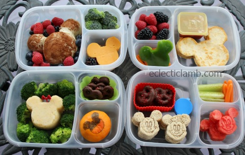 4 Mickey food ideas