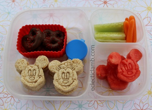 Mickey Minnie Mouse Sandwiches