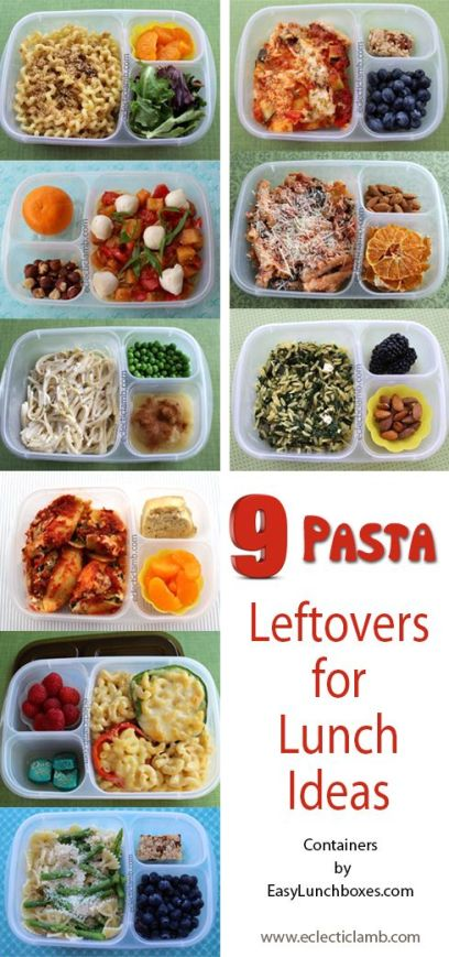 9 Pasta Leftovers ELB