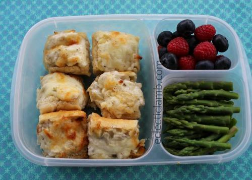 Artichoke Rosemary Bruschetta Lunch