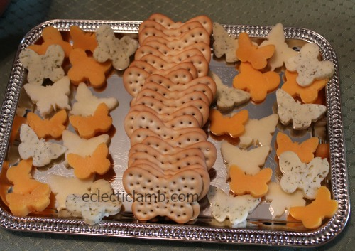 Butterfly Crackers Butterfly Cheese