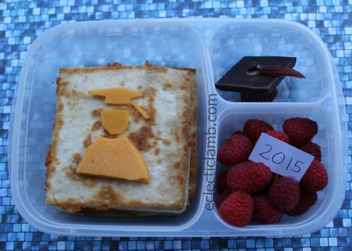 Graduation themed food