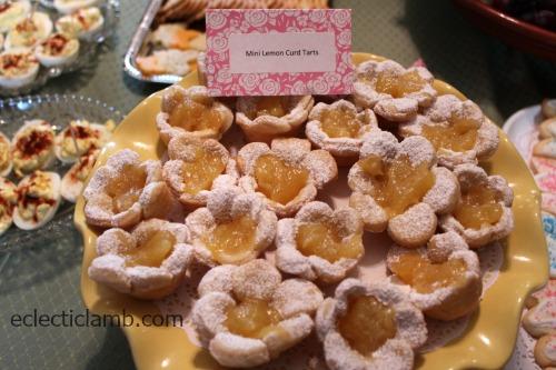 Mini Lemon Curd Tarts
