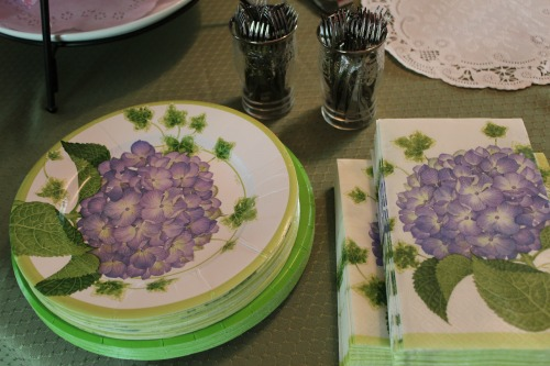 Paper Plates Napkins Miniature Forks