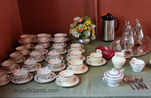 Tea Service and Cups
