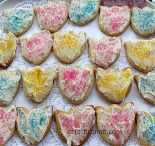 Tulip Frosted Sugar Cookies
