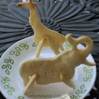 3D Animal Shaped Crackers with Soup