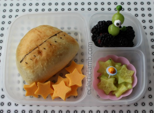 UFO themed food