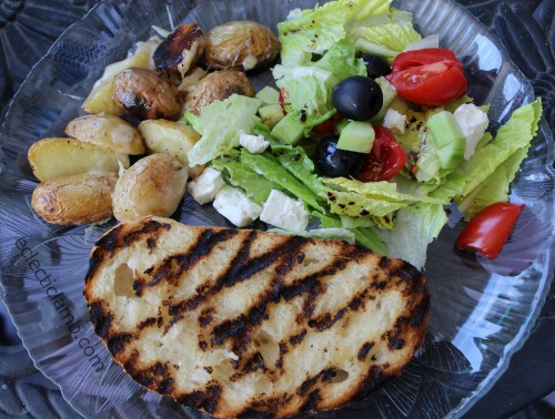 Vegetarian Cookout Food