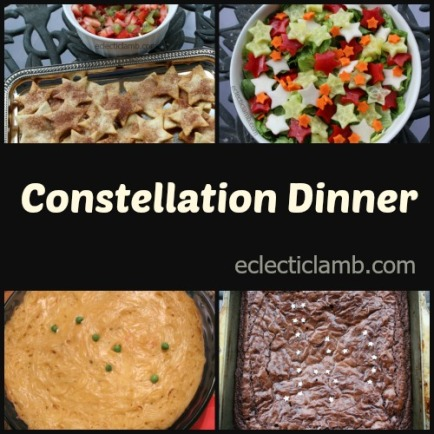 Constellation Dinner Collage