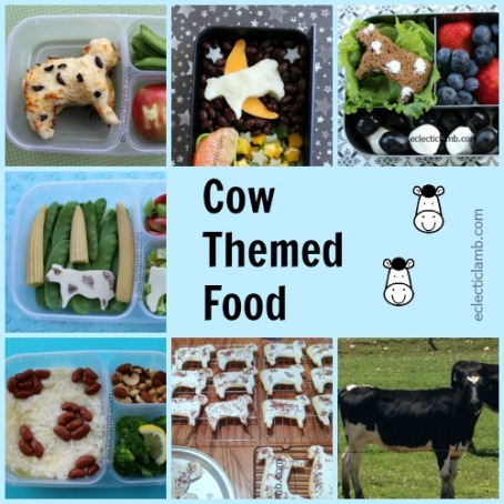 Cow Themed Food