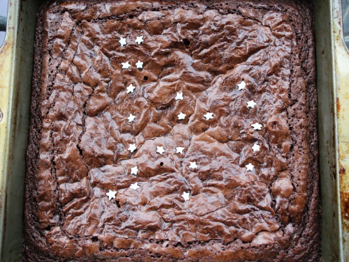 Orion Constellation Brownies