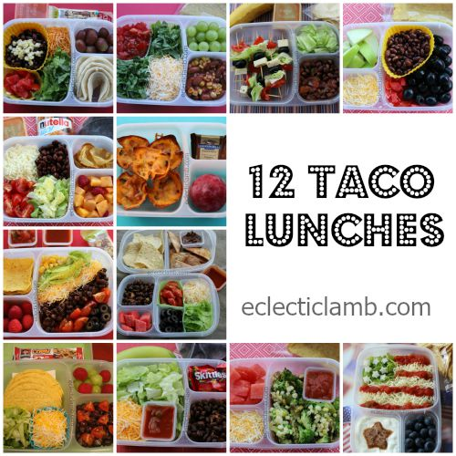 12 Taco Lunches