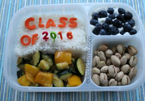 Class of 2016 Themed Food