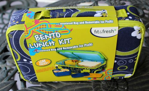 Fit and Fresh Bento Lunch Kit