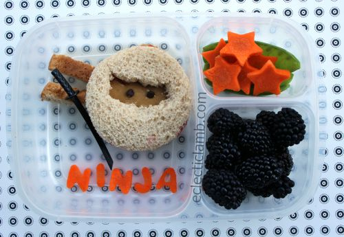Ninja Peanut Butter Sandwich Lunch