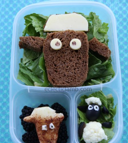 Shawn the Sheep Lunch