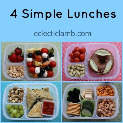 4 Simple Lunches