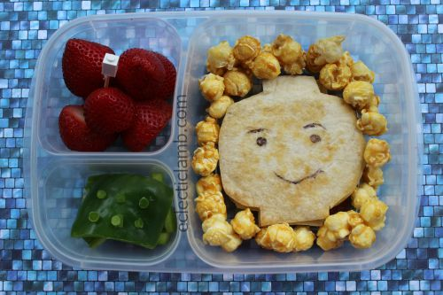 Lego Minifigure Head Lunch