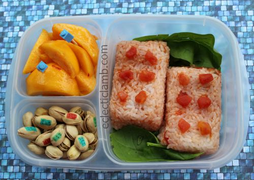 Lego Rice for Lunch