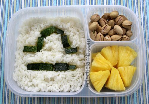Libra Zodiac Bento Lunch